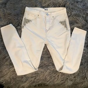 Urban Outfitters BDG white skinny jeans